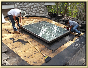 Lake Forest Skylight Repair