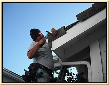 professional roof tune up repairman - brian atkins