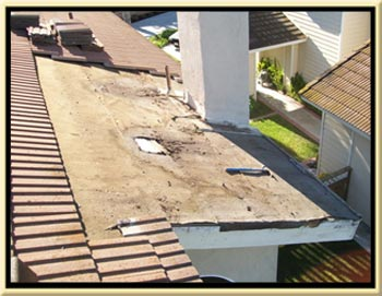 Leaking Fireplace Orange County Roofing