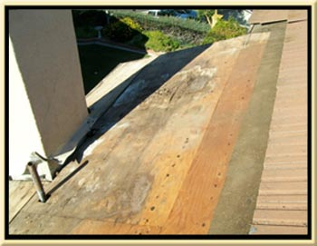 Roof Leak Damage and Repair