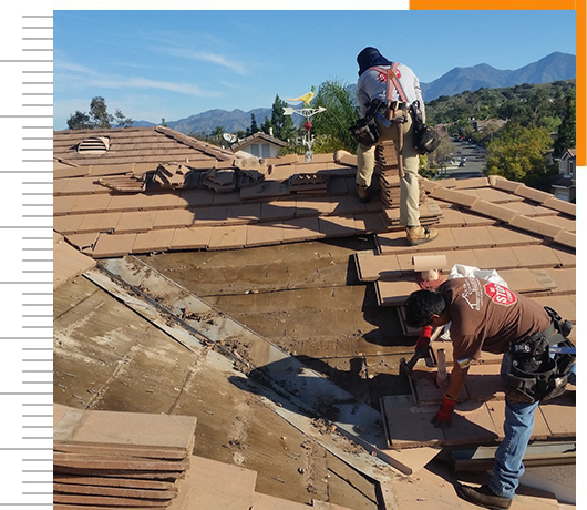 tile roof repairs south county